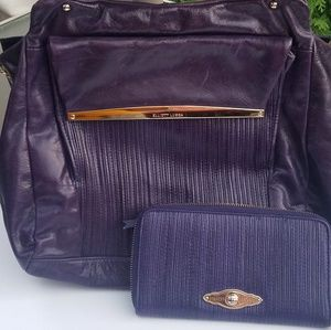 Elliott Lucca Handbag and Wallet